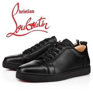 Christian Louboutin Junior Flat Black Sneaker 43.5